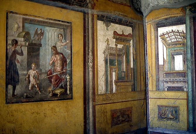 pompei-maison-vettii-triclinium
