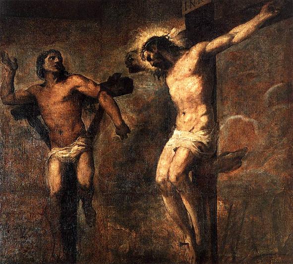titien-le-christ-et-le-bon-larron