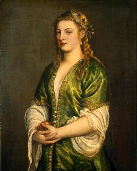 titien-portrait-de-femme-en-vert