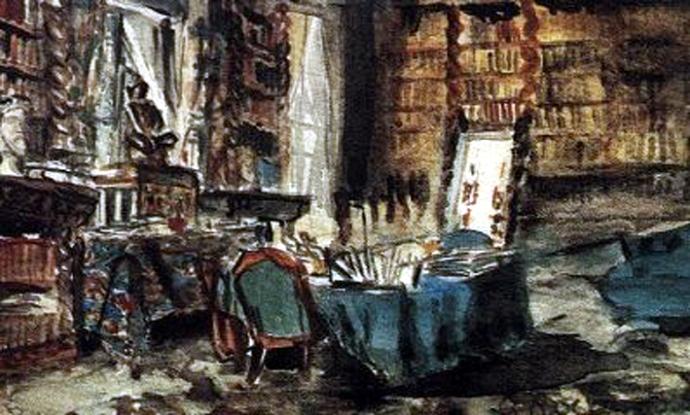 Bureau de Gustave Flaubert à Croisset