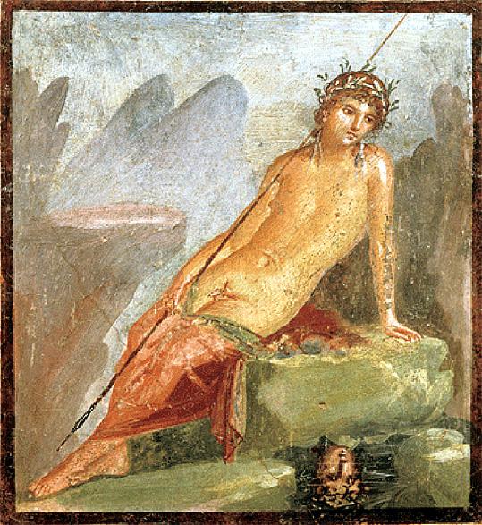 pompei-narcisse-au-bain