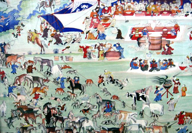 9938638542ba1 Un certain Hva san était roi d'un territoire chinois en même temps qu'élève  du Maître. Il était réputé lapiner et est représenté avec huit enfants dans  les ...