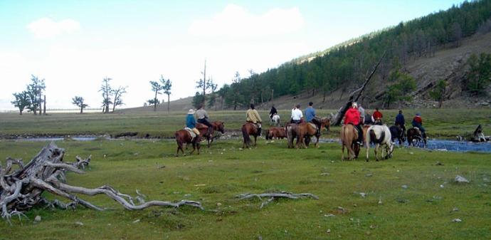 La Mongolie, d'Oulan Bator à l'empire des steppes ; le monde des chevaux 63