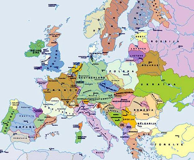 carte europe des peuples   argoul