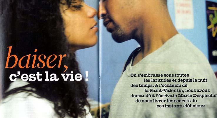 baiser lsf hetero bi sexuelle des femmes