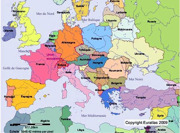 Moldavie carte de situation | argoul